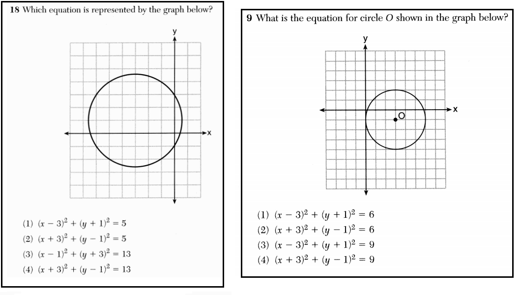 Two Circle Questions