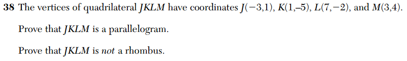 2014 Regents Geom -- coordinate proof