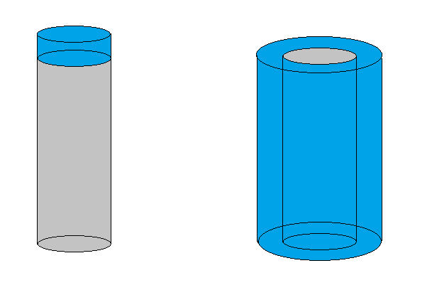 Expanding Cylinders tall